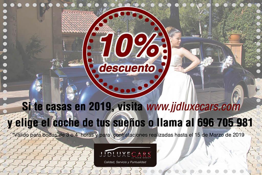 alquiler coches clasicos bodas eventos rodajes valencia oferta descuento marzo 2019 jjdluxe cars