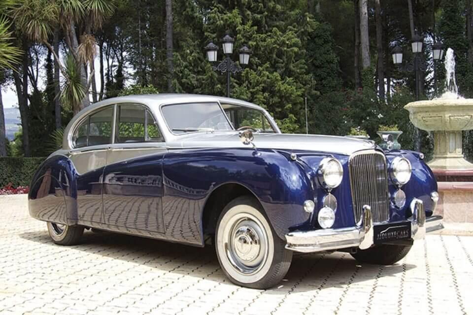 alquiler de jaguar para bodas en valencia mk vii azul gris 1956 coches clasicos antiguos vintage eventos rodajes jjdluxe cars