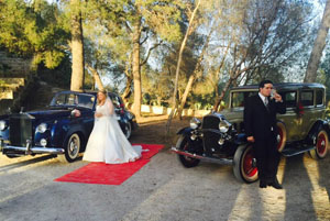 alquiler coches clasicos para boda rolls royce chevrolet confederate jjdluxe cars valencia demelza anacleto