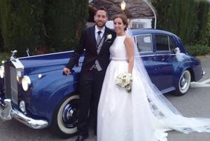 alquiler coches clasicos para boda rolls royce silver cloud jjdluxe cars valencia marta alario