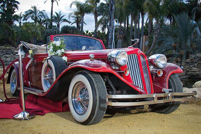 alquiler de duesenberg r rojo 1933 en valencia bodas eventos rodajes jj dluxe cars portada