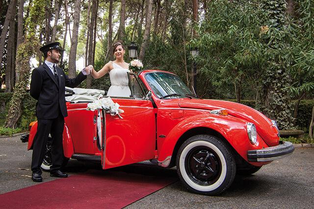 alquiler de escarabajo volkswagen beetle rojo 1973 en valencia bodas eventos rodajes jj dluxe cars 3