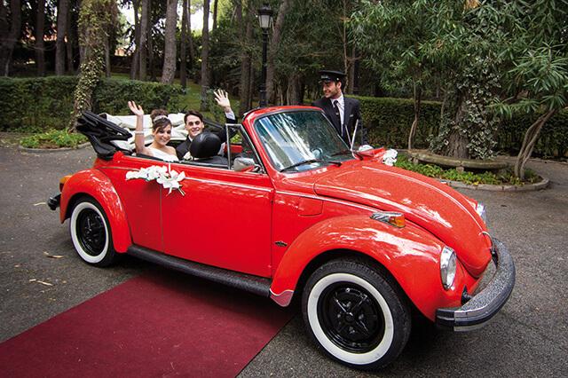 alquiler de escarabajo volkswagen beetle rojo 1973 en valencia bodas eventos rodajes jj dluxe cars 6