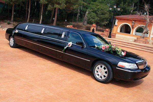 alquiler de limusina negra en valencia lincoln town 9 bodas eventos rodajes jj dluxe cars portada