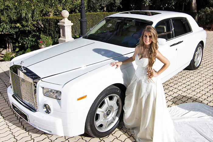 alquiler de rolls royce phantom blanco en valencia 2007 bodas eventos rodajes jj dluxe cars portada