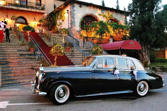 alquiler de rolls royce silver cloud marron 1961 bodas eventos rodajes jj dluxe cars valencia