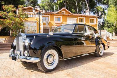 alquiler de rolls royce silver cloud negro 1961 bodas eventos rodajes jj dluxe cars valencia portada