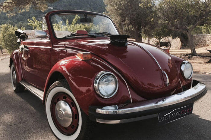 """Alquiler VolksWagen Beetle Clásico Descapotable """"Be Original"""""""