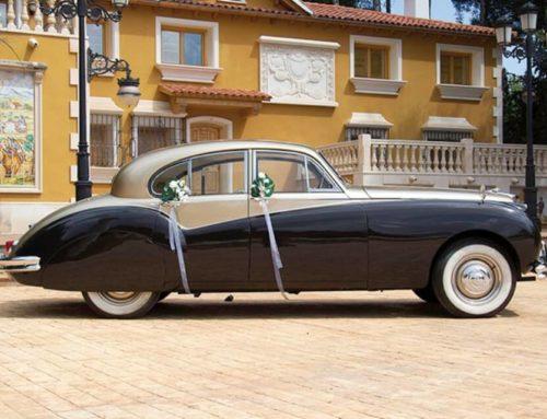 Alquiler de Jaguar para bodas en Valencia