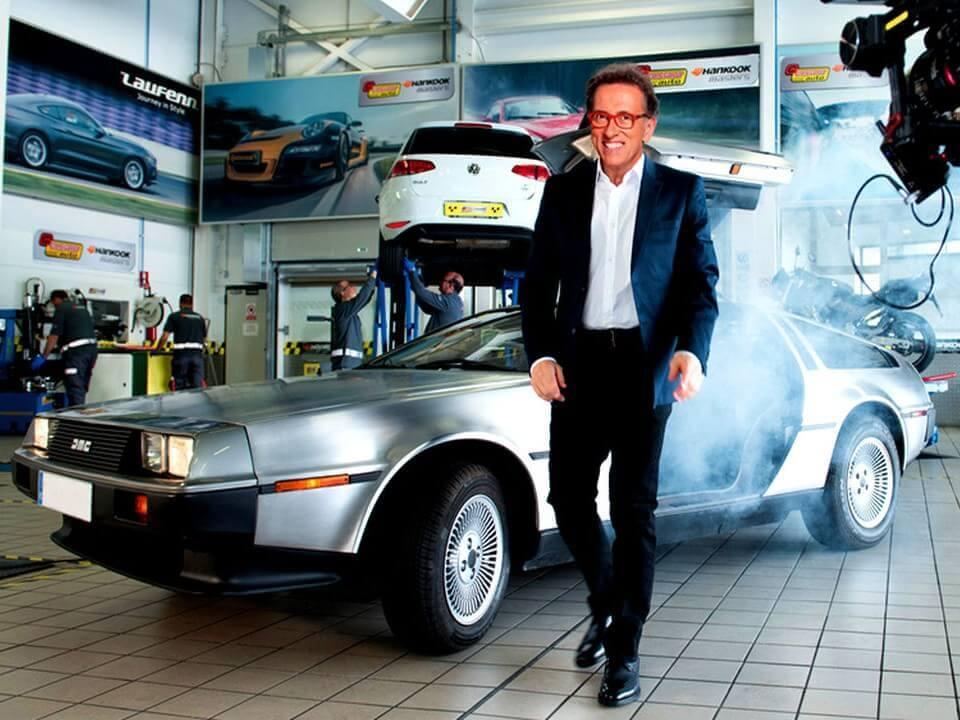 alquiler de coches para rodajes anuncios publicidad television cine delorean jordi hurtado hankook jj dluxe cars valencia servicio