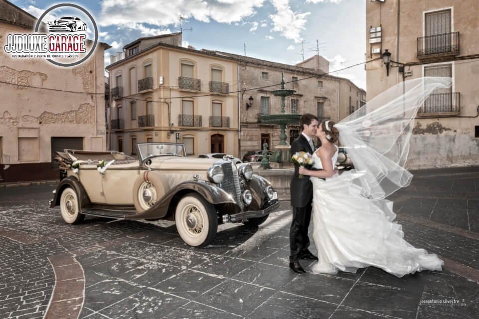 coches antiguos para bodas alquiler de licoln dual cowl 1933 eventos rodajes jj dluxe cars valencia portada