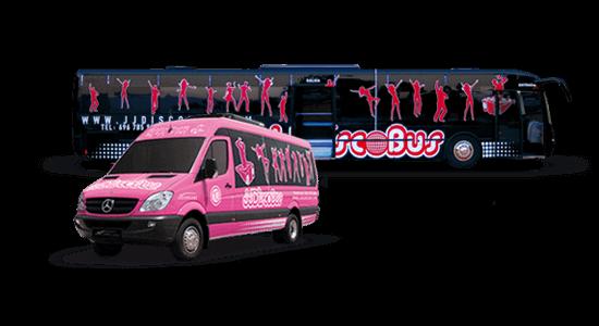 alquiler de discobus en valencia despedidas soltera fiesta cumpleanos jj dluxe cars vehiculos
